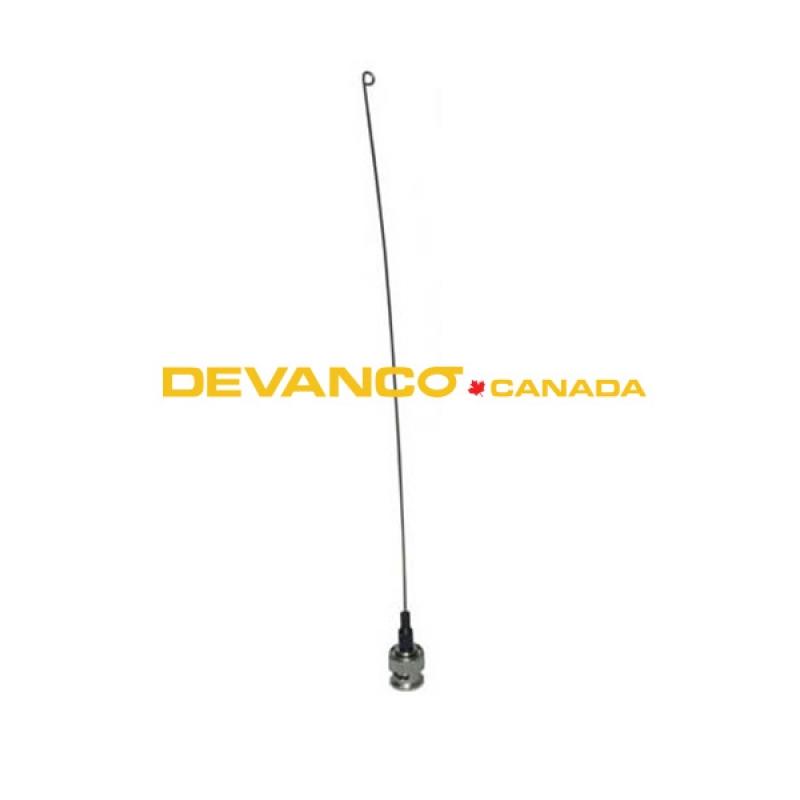 Garage door opener remote antenna