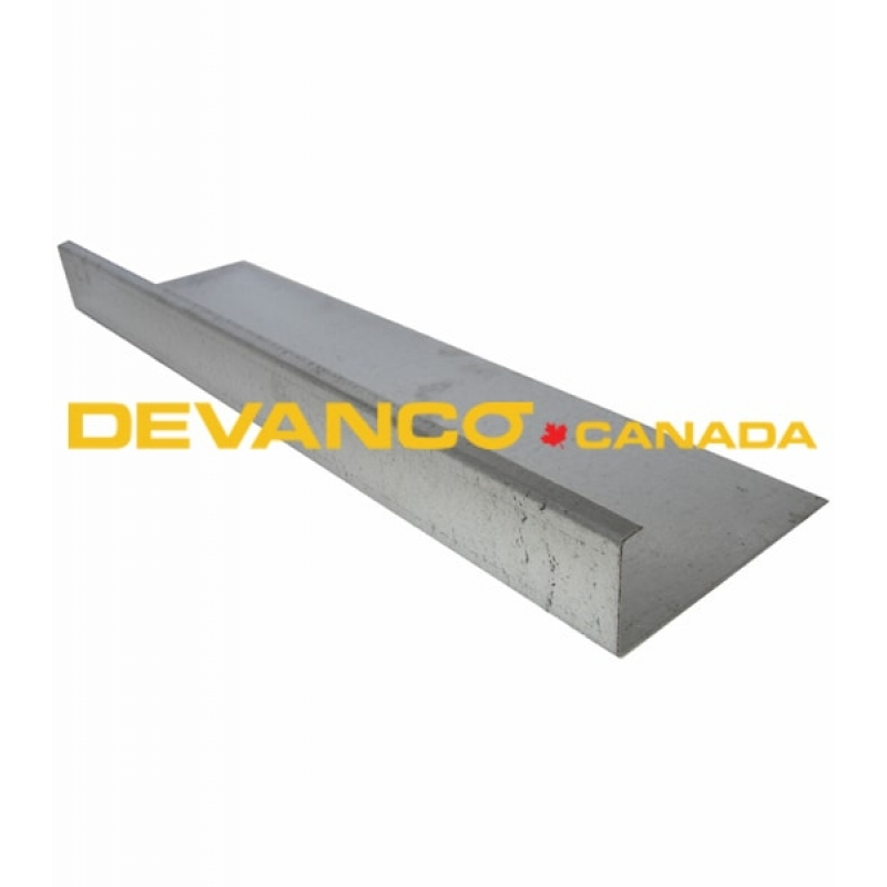 Gd Stend 21d End Cap Steel 18g 21 Quot Double 1 34 Quot
